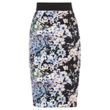 Buy Coast Chery Blossom Scuba Skirt, Multi Online at johnlewis.com
