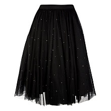 Buy Ted Baker Netted Tutu Skirt, Black Online at johnlewis.com