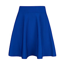 Buy Ted Baker Knitted Pleat Flippy Skirt, Bright Blue Online at johnlewis.com