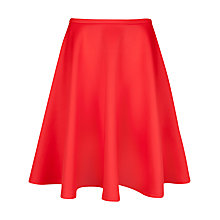 Buy Ted Baker Skater Skirt, Mid Orange Online at johnlewis.com