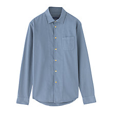 Buy Jigsaw Twill Slim Fit Placket Shirt Online at johnlewis.com