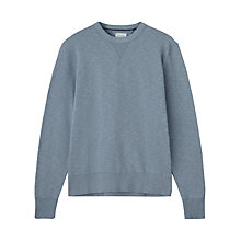 Buy Jigsaw Crew Neck Cotton Sweatshirt Online at johnlewis.com