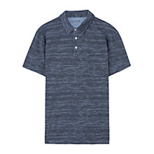 Buy Jigsaw Mini Stripe Polo Shirt, Navy Online at johnlewis.com