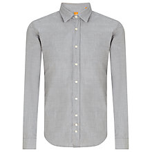Buy BOSS Orange Cliffe Shirt, Grey Online at johnlewis.com