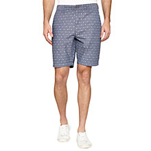 Buy Original Penguin Exclusive Printed Shorts, Persimmon Online at johnlewis.com