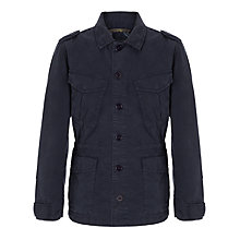 Buy Aigle Narrowleaf Safari Jacket, Navy Online at johnlewis.com