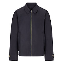 Buy Aigle Rainway Waterproof Harrington Jacket, Navy Online at johnlewis.com