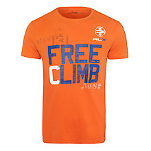 Buy Polo Ralph Lauren Free Climb Cotton T-Shirt Online at johnlewis.com