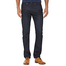 Buy Original Penguin Slim Fit Denim Jeans, Dark Blue Wash Online at johnlewis.com