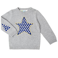 Buy John Lewis Star Jumper, Grey Online at johnlewis.com