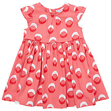 Buy John Lewis Baby Sleeveless Spot Poplin Dress Online at johnlewis.com