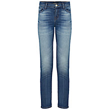 Buy J Brand Cropped Ellis Jeans, Rival Online at johnlewis.com