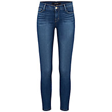Buy J Brand 835 Mid Rise Capri Jeans, Blue Code Online at johnlewis.com