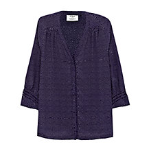 Buy Pyrus Katie Silk Print Blouse, Constellation Online at johnlewis.com