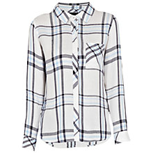 Buy Rails Hunter Plaid Shirt, White Navy Sky Online at johnlewis.com