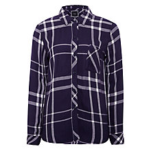 Buy Rails Hunter Plaid Shirt, Cadet/White Online at johnlewis.com