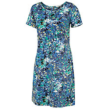 Buy Fat Face Tenby Abstract Dress, Dark Chambray Online at johnlewis.com