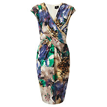 Buy Ariella Annie Wrap Shift Dress, Multi Online at johnlewis.com