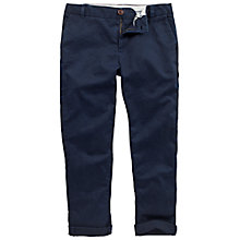 Buy Fat Face Modern Chino Crop Trousers, Navy Online at johnlewis.com