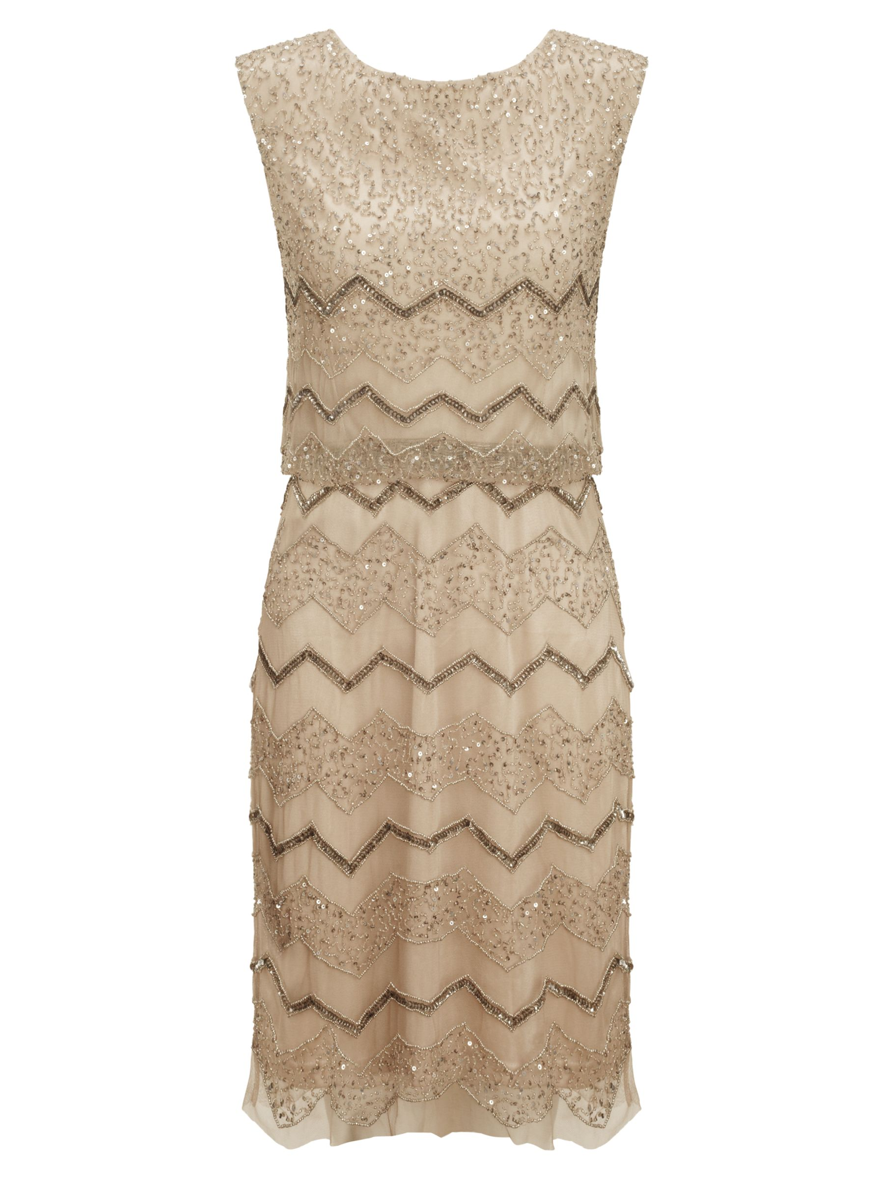 adrianna papell short blouson beaded dress beige, adrianna, papell, short, blouson, beaded, dress, beige, adrianna papell, 12|14|10|16, women, eveningwear, brands a-k, womens dresses, special offers, womenswear offers, womens dresses offers, 1839309