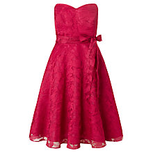 Buy Ariella Bow Belt Cami Dress, Cherry Online at johnlewis.com