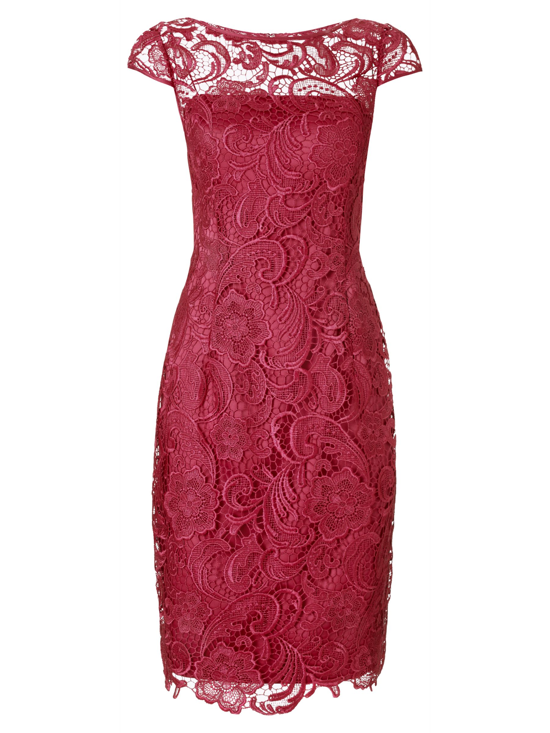 adrianna papell cap sleeve lace dress lacquer, adrianna, papell, cap, sleeve, lace, dress, lacquer, adrianna papell, 8|10|14|16|6|18|12, women, eveningwear, special offers, womenswear offers, 30% off selected adrianna papell, brands a-k, valentines fashion edit, womens dresses, gifts, valentines day, red dress, 1839126