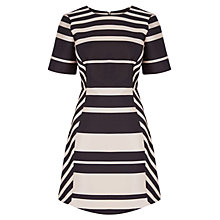Buy Coast Sharna Striped Dress, Mono Online at johnlewis.com