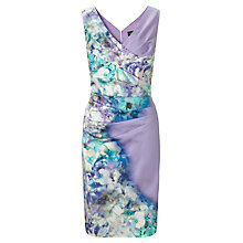 Buy Ariella Sally Printed Pencil Dress, Lavender Online at johnlewis.com