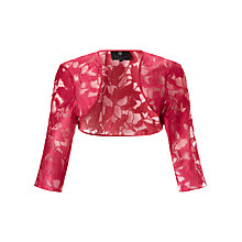 Buy Ariella Lori Bolero, Cherry Online at johnlewis.com
