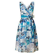 Buy Ariella Zeta 50s Prom Dress, Blue/Grey Online at johnlewis.com