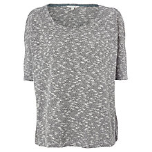 Buy White Stuff Felicity T-Shirt, Dew Grey Online at johnlewis.com