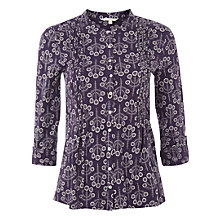 Buy White Stuff Canal Jersey Shirt, Purple Online at johnlewis.com