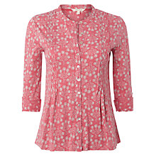 Buy White Stuff Canal Jersey Shirt, Rosie Pink Online at johnlewis.com