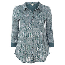 Buy White Stuff Pretty Jersey Shirt, Dark Dragon Online at johnlewis.com