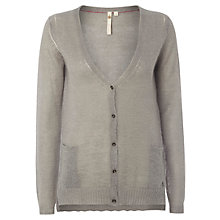 Buy White Stuff Dilly Dally Cardigan, Grey Online at johnlewis.com