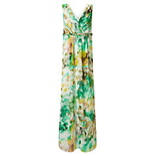 Buy Ariella Kimberley Maxi Dress, Green/White/Yellow Online at johnlewis.com