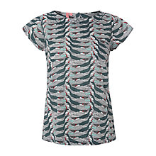 Buy White Stuff Little Birdie Top, Steel Blue Online at johnlewis.com
