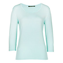 Buy Betty Barclay Three Quarter Length Sleeve Top, Pacific Opal Online at johnlewis.com