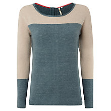 Buy White Stuff Fjord Block Jumper, Dragonfly Online at johnlewis.com