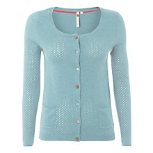 Buy White Stuff Punch Hole Cardigan Online at johnlewis.com