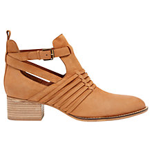 Buy Mint Velvet Jodie Nubuck Ankle Boots, Tan Online at johnlewis.com