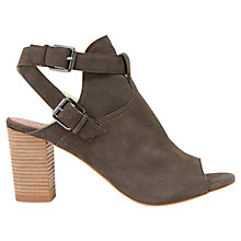 Buy Mint Velvet Suki Nubuck Shoe Boots, Grey Online at johnlewis.com