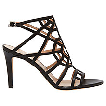 Buy Mint Velvet Marianna Leather High Heel Sandals Online at johnlewis.com