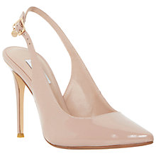 Buy Dune Carie Pointed Court Shoes, Blush Online at johnlewis.com