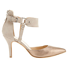 Buy Mint Velvet Arizona Leather Court Shoes, Bronze Online at johnlewis.com