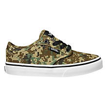 Buy Vans Atwood Canvas Trainers, Camouflage Online at johnlewis.com