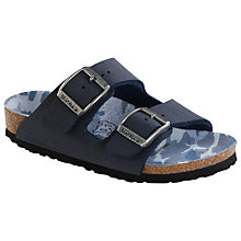 Buy Birkenstock Children's Arizona Camouflage, Navy Online at johnlewis.com