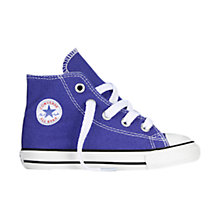 Buy Converse Chuck Taylor All Star Hi Top Trainers, Periwinkle Online at johnlewis.com