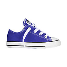 Buy Converse Chuck Taylor All Star Low Top Trainers, Periwinkle Online at johnlewis.com