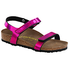 Buy Birkenstock Yala Sandals, Mirror Pink Online at johnlewis.com